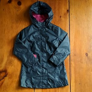 LIKE NEW Gap Cotton Polyurethane Blend Rain Coat